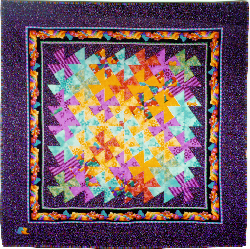 Kathy's Quilts: Cepideh's Quilt : kathy quilts - Adamdwight.com